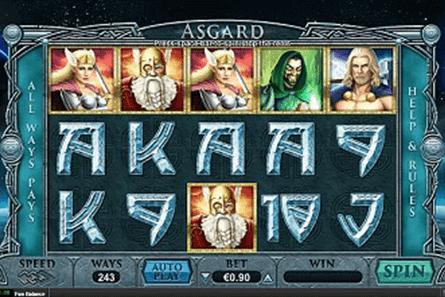 Asgard tragamonedas