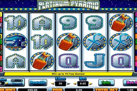 Platinum Pyramid tragamonedas