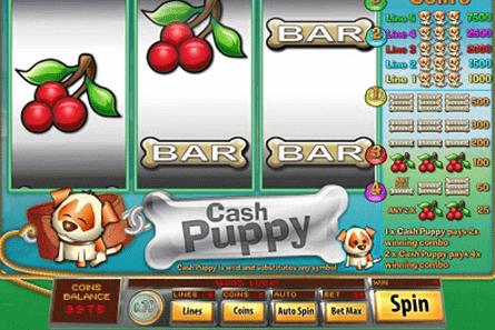tragaperras Cash Puppy