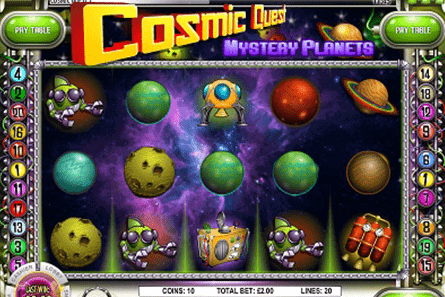 tragaperras Cosmic Quest II: Mystery Planets