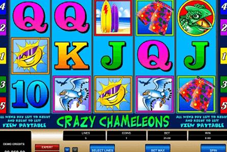 Crazy Chameleons tragamonedas