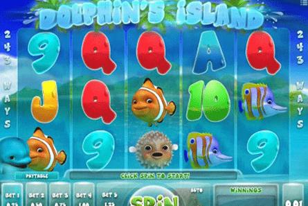 Dolphin's Island tragamonedas