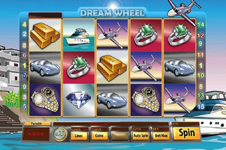 Dream Wheel tragamonedas