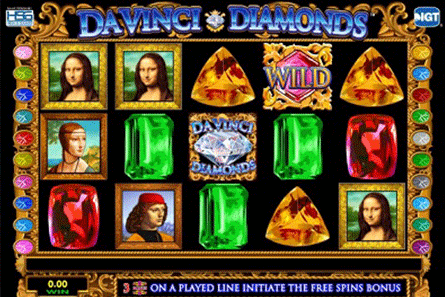 tragaperras Da Vinci Diamonds
