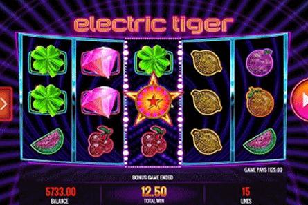 tragaperras Electric Tiger
