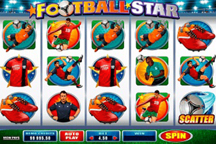 Football Star tragamonedas