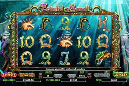tragaperras Enchanted Mermaid