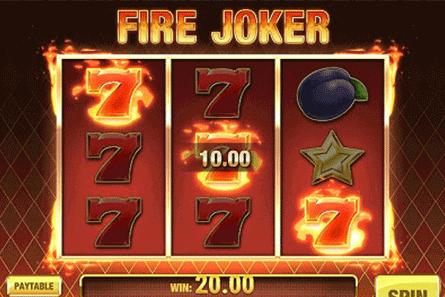 tragaperras Fire Joker