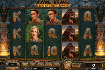 tragaperras King Kong Island of Skull Mountain