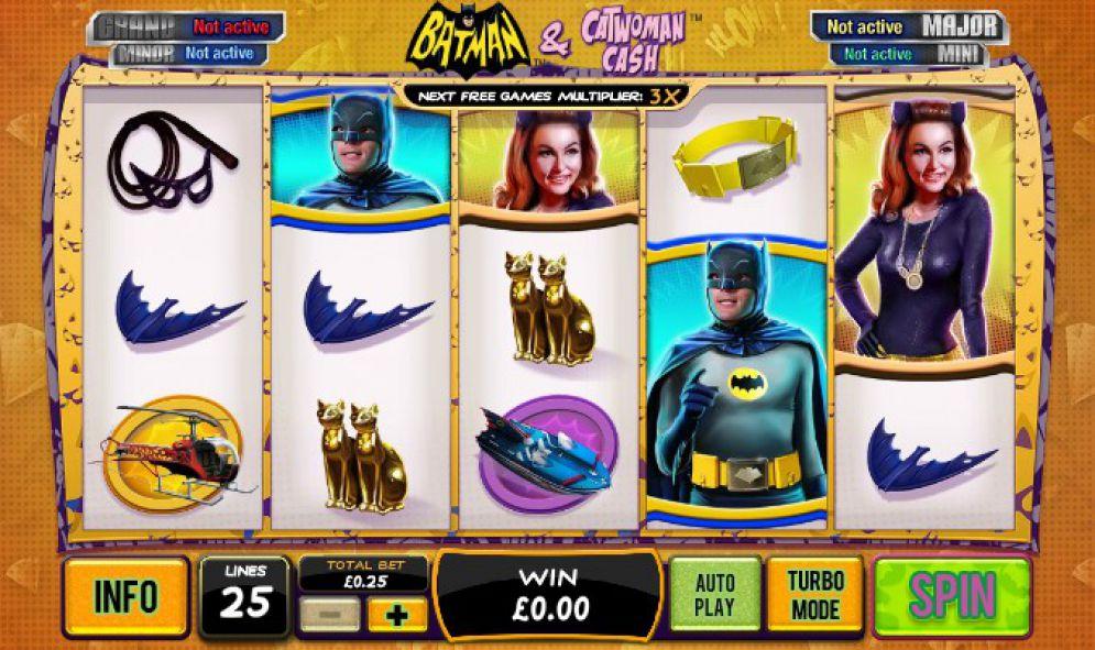 Tragaperras Batman & Catwoman Cash