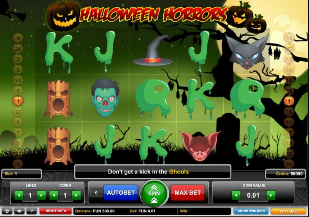 Tragaperras Halloween Horrors