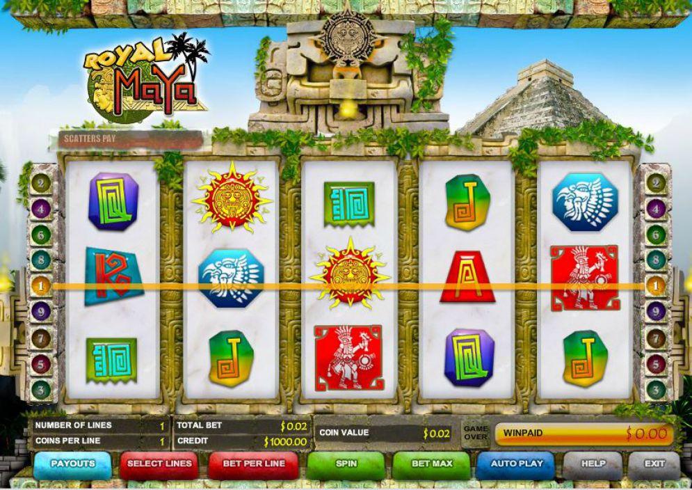 Slot Royal Maya