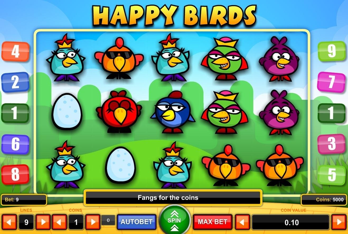 Tragaperras Happy Birds