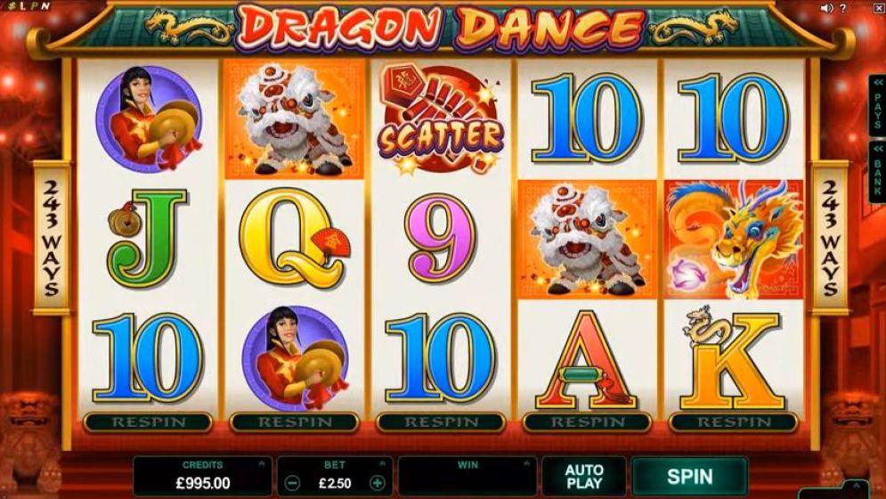 Tragaperras Dragon Dance