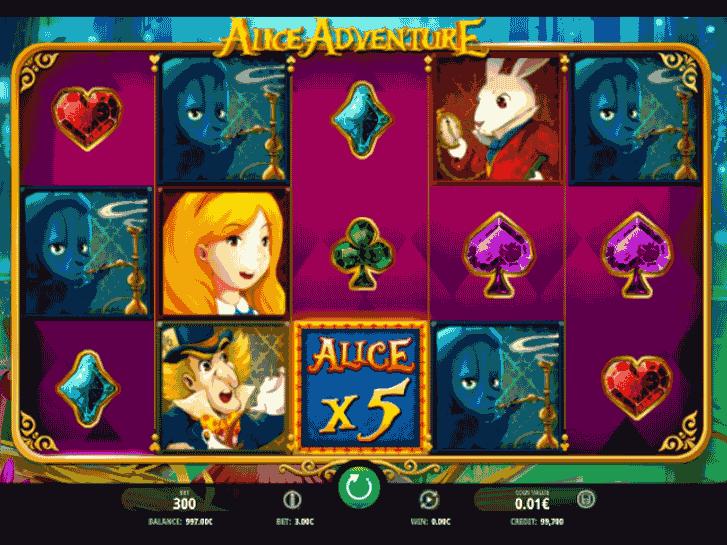 alice adventure iframe