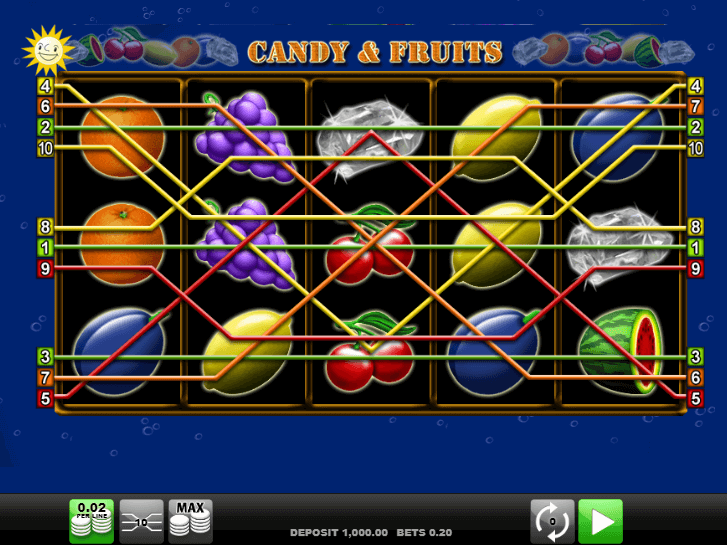 candy fruits iframe