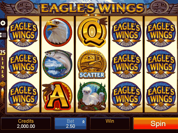 eagles wings iframe