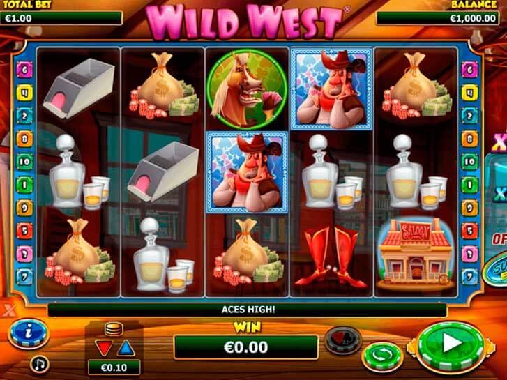 wild west slots iframe