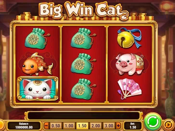 big win cat iframe