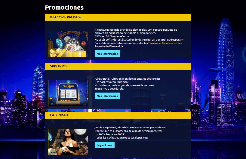 euromoon promociones