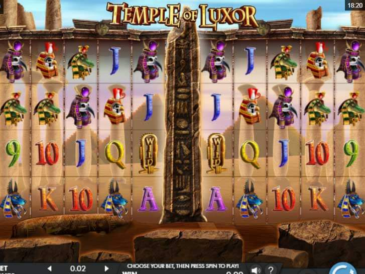 luxor temple iframe
