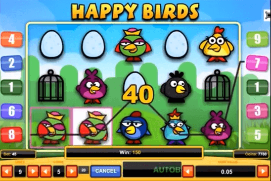 Slot Happy Birds