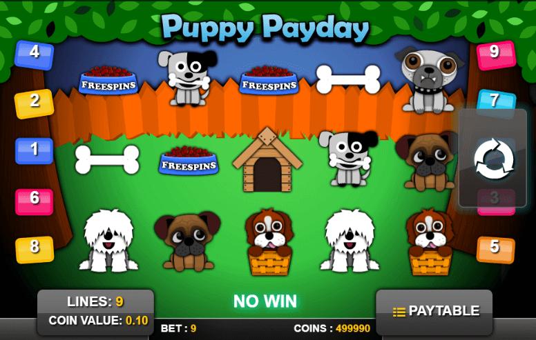 Slot Puppy PayDay