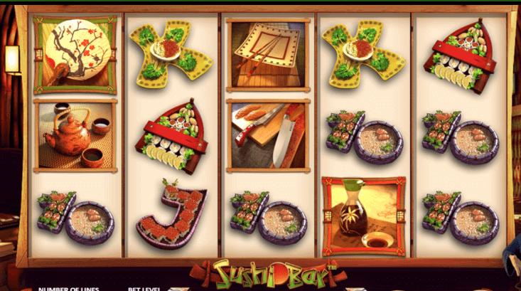 Tragaperras Sushi Bar