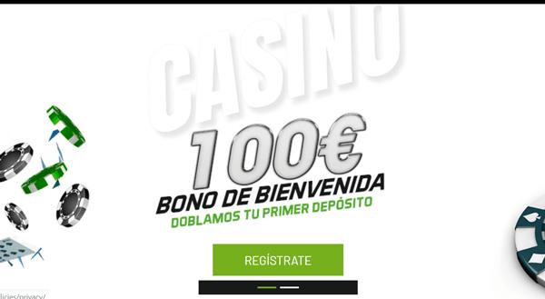 Juegging bono bienvenida