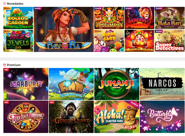 Casino gran madrid slots