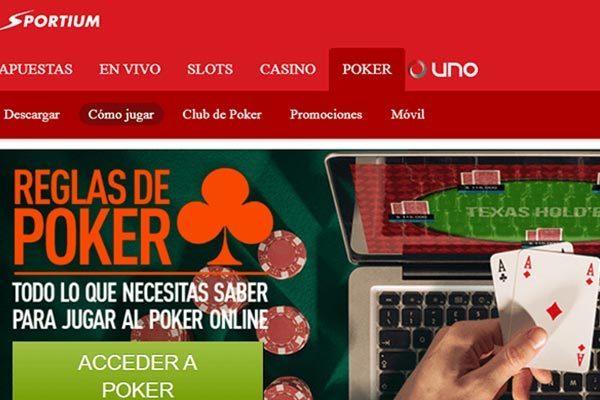 Sportium poker bonus