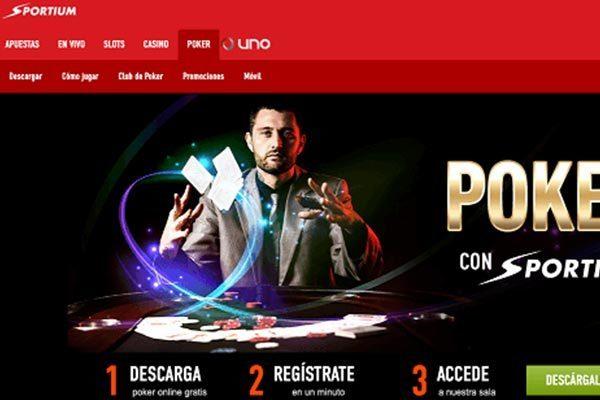 sportium poker