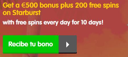 Casino Room Bono